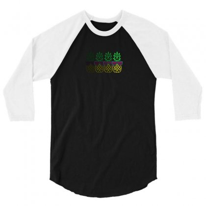 Fruity 3/4 Sleeve Shirt Designed By Andr1