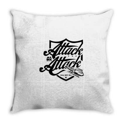 Attack Attack Throw Pillow Designed By Mdk Art
