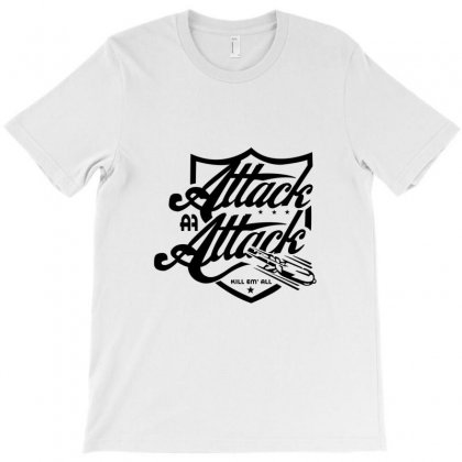 Attack Attack T-shirt Designed By Mdk Art