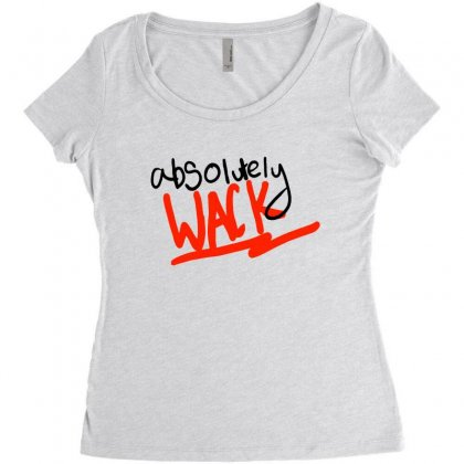 More Chill Less Wack Women's Triblend Scoop T-shirt Designed By Devanojohnsantos