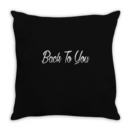 Back To You Throw Pillow Designed By Mdk Art