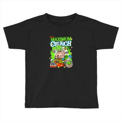 Crunch Toddler T-shirt Designed By Disgus_thing