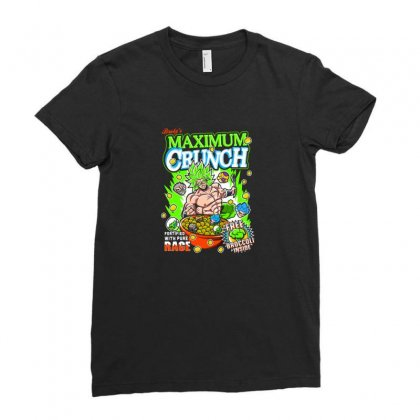 Crunch Ladies Fitted T-shirt Designed By Disgus_thing