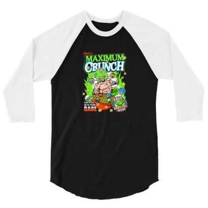 Crunch 3/4 Sleeve Shirt Designed By Disgus_thing