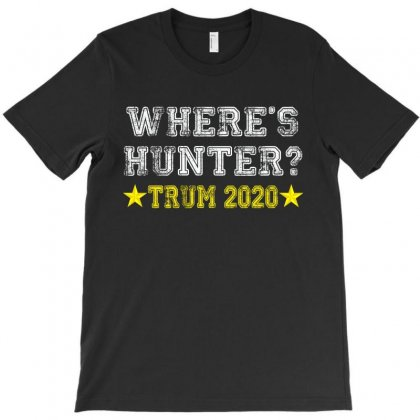 Wheres Hunter T-shirt Designed By Amber Petty