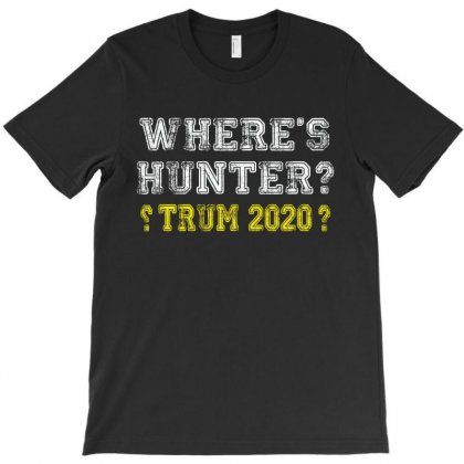 Wheres Hunter 1 T-shirt Designed By Amber Petty