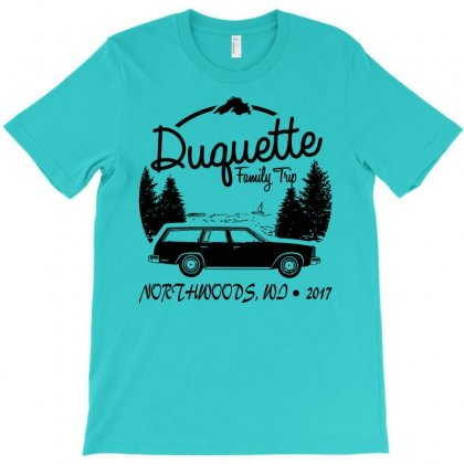 Duquette Family Vacation 2017   White Ink T-shirt Designed By Fashionartis69