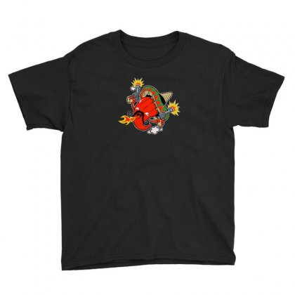 Mexican Chilli Youth Tee Designed By Andr1