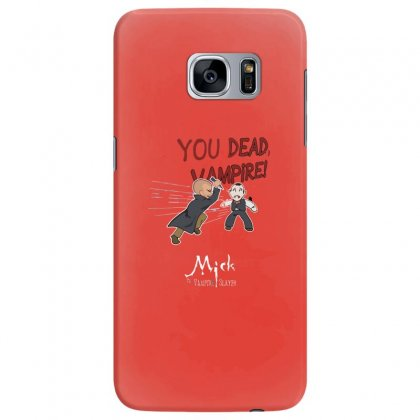 Mick, The Vampire Slayer Samsung Galaxy S7 Edge Case Designed By Andr1