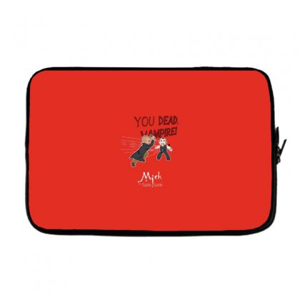 Mick, The Vampire Slayer Laptop Sleeve Designed By Andr1