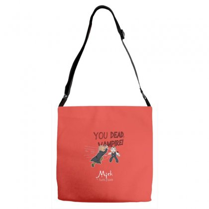 Mick, The Vampire Slayer Adjustable Strap Totes Designed By Andr1