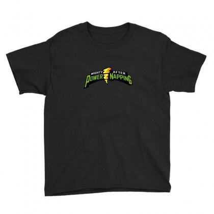 Mighty After Power Napping Youth Tee Designed By Andr1