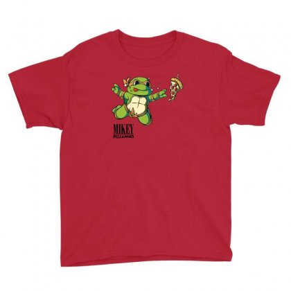 Mikey   Pizzamind Youth Tee Designed By Andr1