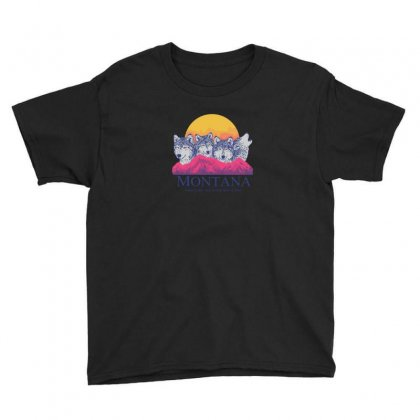 Montana Youth Tee Designed By Andr1