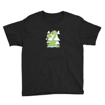 Morning Shave Youth Tee Designed By Andr1
