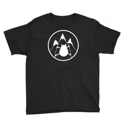 Mountains Cat Youth Tee Designed By Andr1