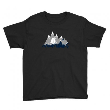 Mountains Cats Youth Tee Designed By Andr1