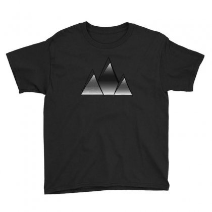 Mountains V2 Youth Tee Designed By Andr1
