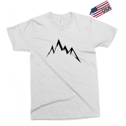Moutains Logo Exclusive T-shirt Designed By Andr1