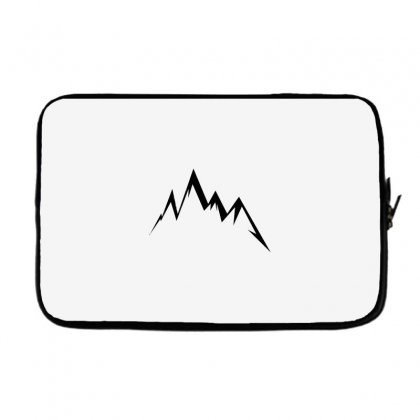 Moutains Logo Laptop Sleeve Designed By Andr1