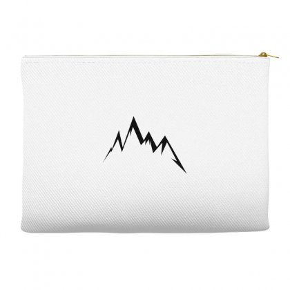 Moutains Logo Accessory Pouches Designed By Andr1