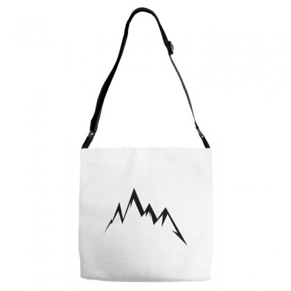 Moutains Logo Adjustable Strap Totes Designed By Andr1