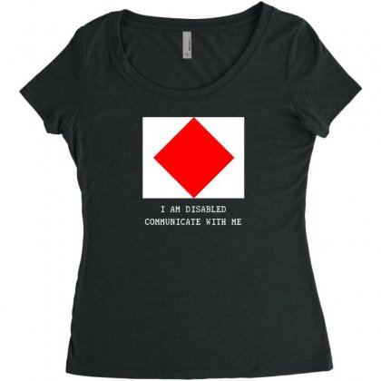 Nautical But Nice   Foxtrot Women's Triblend Scoop T-shirt Designed By Andr1