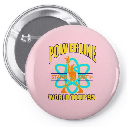 Powerline Stand Out World Tour '95 Pin-back Button Designed By Jetspeed001