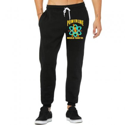 Powerline Stand Out World Tour '95 Unisex Jogger Designed By Jetspeed001