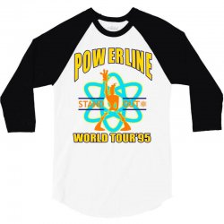 powerline stand out world tour '95 3/4 Sleeve Shirt | Artistshot