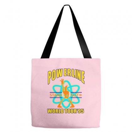 Powerline Stand Out World Tour '95 Tote Bags Designed By Jetspeed001
