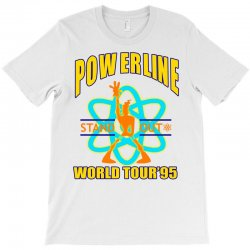powerline stand out world tour '95 T-Shirt | Artistshot
