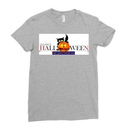Halloween Ladies Fitted T-shirt Designed By Xprime