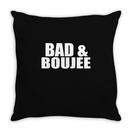 Bad Boujee Throw Pillow Designed By Mdk Art