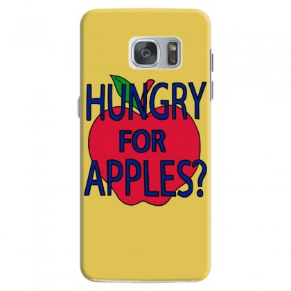 Hungry For Apples Black Samsung Galaxy S7 Case Designed By Fashionartis69