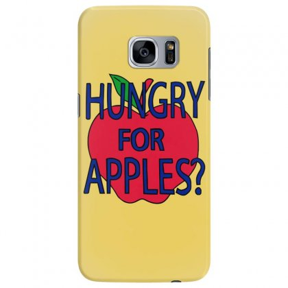Hungry For Apples Black Samsung Galaxy S7 Edge Case Designed By Fashionartis69