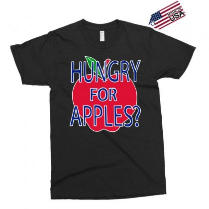 Hungry For Apples White Exclusive T-shirt Designed By Fashionartis69