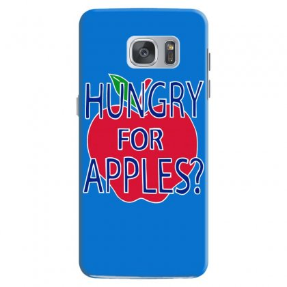 Hungry For Apples White Samsung Galaxy S7 Case Designed By Fashionartis69