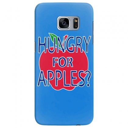 Hungry For Apples White Samsung Galaxy S7 Edge Case Designed By Fashionartis69