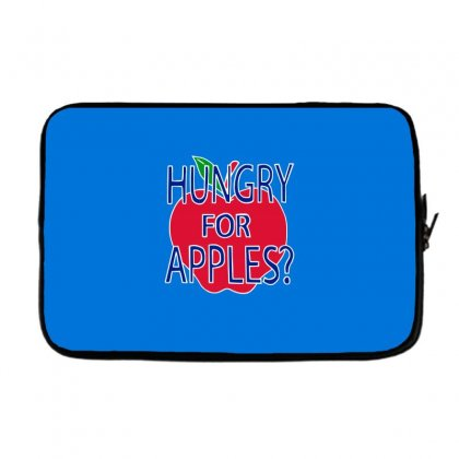 Hungry For Apples White Laptop Sleeve Designed By Fashionartis69