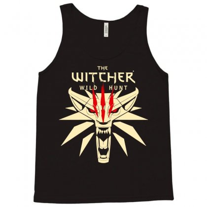 The Witcher Logo Tank Top Designed By Jetspeed001