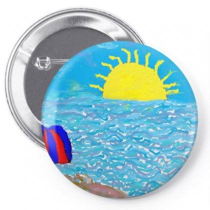 Parasol Pin-back Button Designed By Nad
