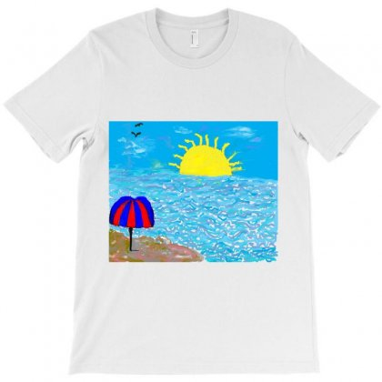 Parasol T-shirt Designed By Nad