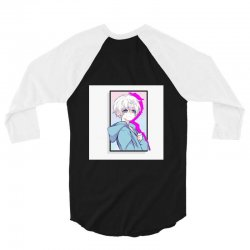 anime cute boy,NOW in your clothes !!! 3/4 Sleeve Shirt | Artistshot