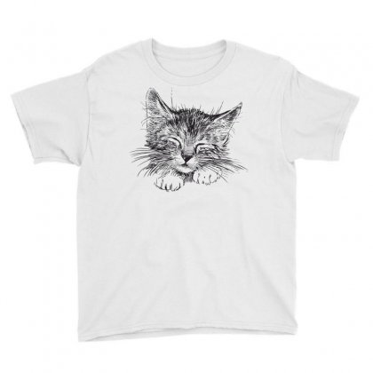 Cat Youth Tee Designed By Estore