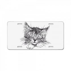 Cat License Plate | Artistshot