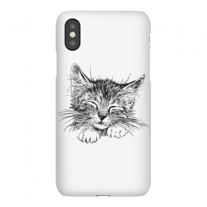 Cat Iphonex Case Designed By Estore