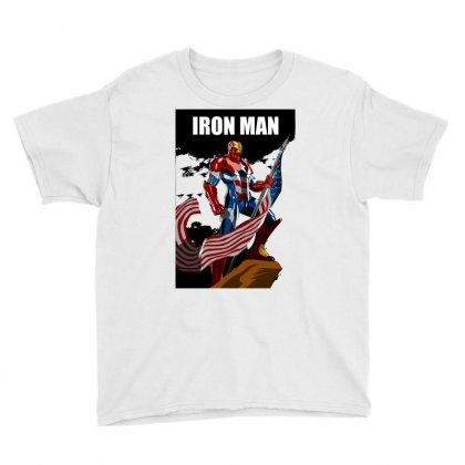 Iron Man Youth Tee Designed By Estore
