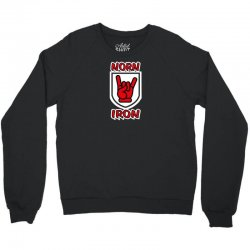 norn iron  northern ireland red hand of ulster   devil horns Crewneck Sweatshirt | Artistshot