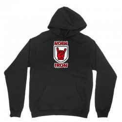 norn iron  northern ireland red hand of ulster   devil horns Unisex Hoodie | Artistshot